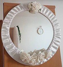 Iné doplnky - Svadobné zrkadlo pre nevestu - 10812715_