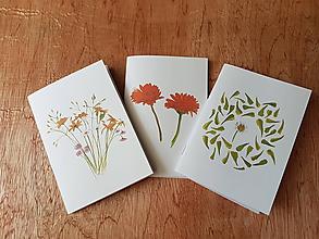 Papiernictvo - Zapisník- kvety - 10811037_