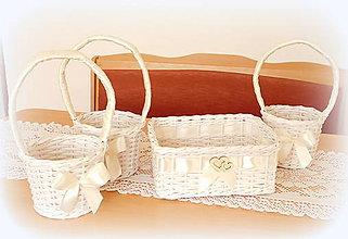 Košíky - košík na pierka - maslová - 10811857_