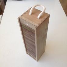 Krabičky - Drevená krabička na víno na mieru - 10814523_