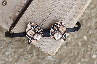 Doplnky - Korkový motýlik - 10814628_