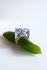 Prstene - Prsteň Nezábudka hranatý (2622 A) - 10814130_