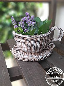 Košíky - Kvetináčik 18x10 - 10814729_