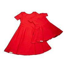 Detské oblečenie - Šaty cherry - 10813664_