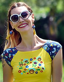Tričká - Tričko Springfield Citrus - 10813674_