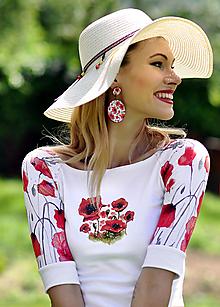 Tričká - Tričko Mrs. Poppy - 10813751_