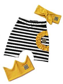 Detské oblečenie - Krátke nohavice CUTE - 10814665_