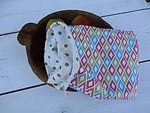 Úžitkový textil - obojstranné vrecko - 10814925_