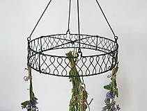 Pomôcky - Kruh na sušenie kvetov , byliniek - 10814402_