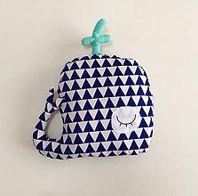 Textil - Veľryba MOBY - 10814301_
