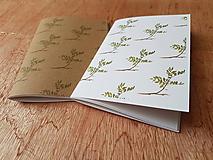 Papiernictvo - Zápisník: Vetvičky - 10814711_