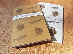 Papiernictvo - Zápisník: Šiška a halúzka - 10814696_