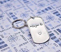 Kľúčenky - milujem ta - všetko po 5€ - 10813808_