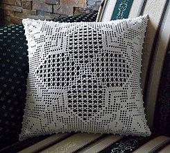 Úžitkový textil - ozdobný vankúš - 10813904_