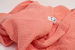 Textil - JEDNOFAREBNÁ  gázovinová prikrývka - farba na želanie - 10817152_