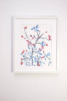 Obrazy - Reprodukcia akvarelu - Šípky - 10815786_