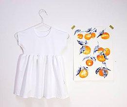 Detské oblečenie - Mini šaty - Biele - 10815829_