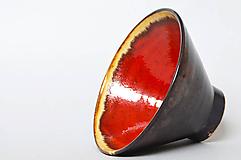 Nádoby - Red bowl - 10816625_