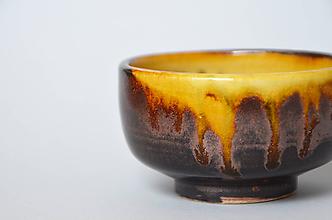 Nádoby - Red tea bowl - 10816676_