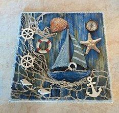 Obrázky - Obrázok 3D- Rybárska sieť a loďka - 10816086_