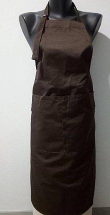 Úžitkový textil - Kuchárska zásterka cez krk - 10816427_
