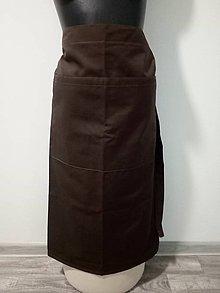 Úžitkový textil - kuchárska zásterka pod kolená - 10816528_