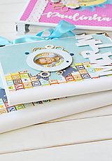 Papiernictvo - Detský samolepiaci fotoalbum - 10817136_