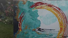 Obrazy - Vášeň i pokora - len kúsok od neba - 10817092_