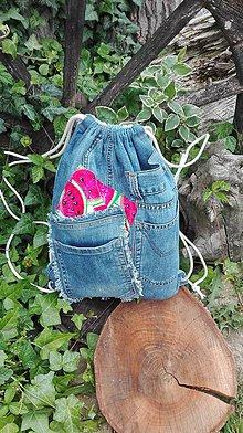 Batohy - Rifľový vak na chrbát - recy originál - 10816190_