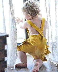 Detské oblečenie - Rastúce Kraťasy Dino - 10815554_