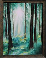Obrazy - Prechádzka lesom - 10816663_