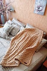 Textil - Jemnučká a ľahká detská deka z priadze alize puffy - 10816366_