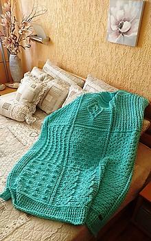 Textil - Jemnučká a ľahká detská deka z priadze alize puffy fine - 10816281_