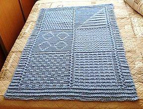 Textil - Jemnučká a ľahká detská deka z priadze alize puffy fine - 10816288_
