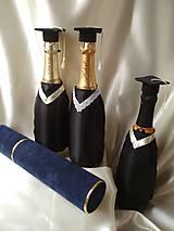 Drobnosti - Talár na fľašu k promócii - 10815660_