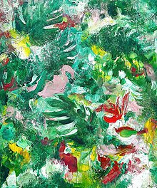 Obrazy - Tropical island, 100x120 - 10816324_