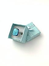 Prstene - Maldives Sklenený prsteň - 10815573_