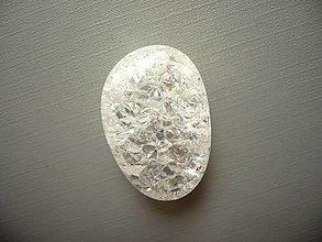 Minerály - Troml. kámen - křišťál 32 mm, č.43 - 10816256_