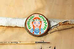 Dekorácie - Mini obrázek - Anna ze Zeleného domu - 10818610_