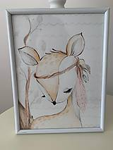 """Detské doplnky - Séria obrazov """"Lesné zvieratká"""" - 10818286_"""