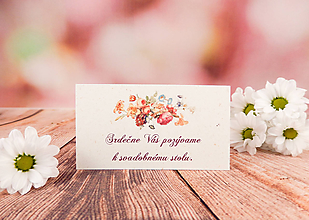 Papiernictvo - Pozvánka Fleur - 10817221_