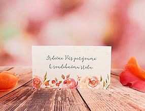Papiernictvo - Pozvánka Belle - 10817227_