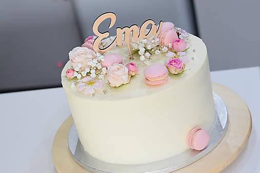 Zápich na tortu Ema