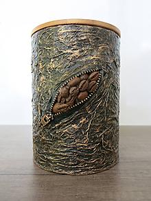 Nádoby - Dóza na kávu - 10818043_