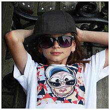 Detské oblečenie - Detské COOL tričko - OčiPuči mámnaháku Čiko n.2 - 10818365_