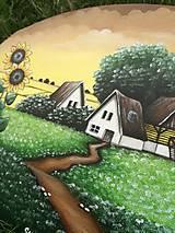 Obrazy - Slnečnice maľba na plátne - 10818910_