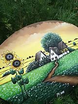 Obrazy - Slnečnice maľba na plátne - 10818911_
