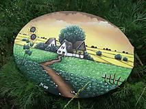 Obrazy - Slnečnice maľba na plátne - 10818912_