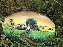 Obrazy - Slnečnice maľba na plátne - 10818916_