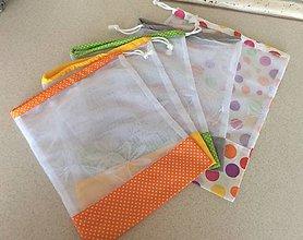 Úžitkový textil - sada vrecúšok na nákup - 10817520_